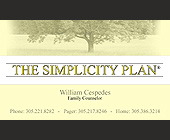 William Cespedes Family Counselor - Healthcare Graphic Designs