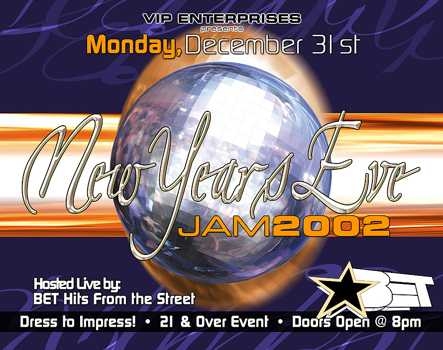 VIP Enterprises Presents New Years Eve