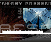 Synergy Presents Resolution - 1275x1650 graphic design