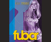 Fubar Saturdays - 1275x1650 graphic design