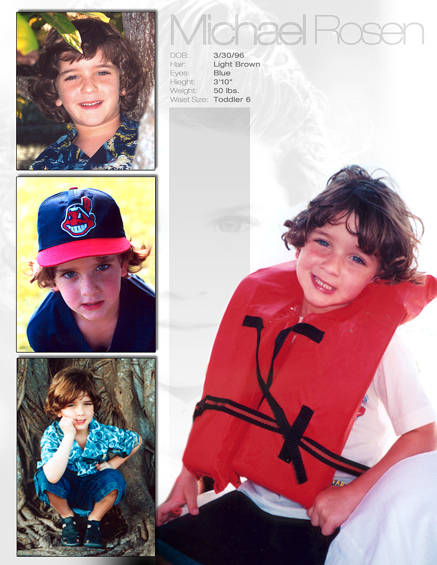 Michael Rosen Child Model