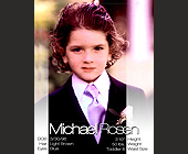 Michael Rosen Child Model - tagged with blue