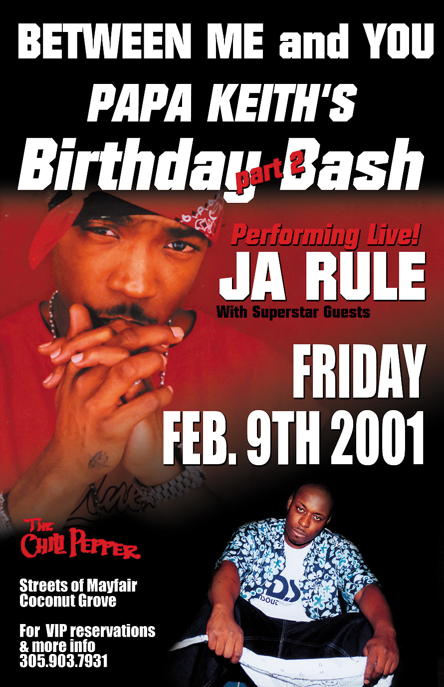Ja Rule Performing Live at The Chili Pepper in Coconut Grove