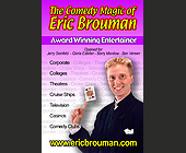 Eric Brouman Magic Comedy - tagged with man