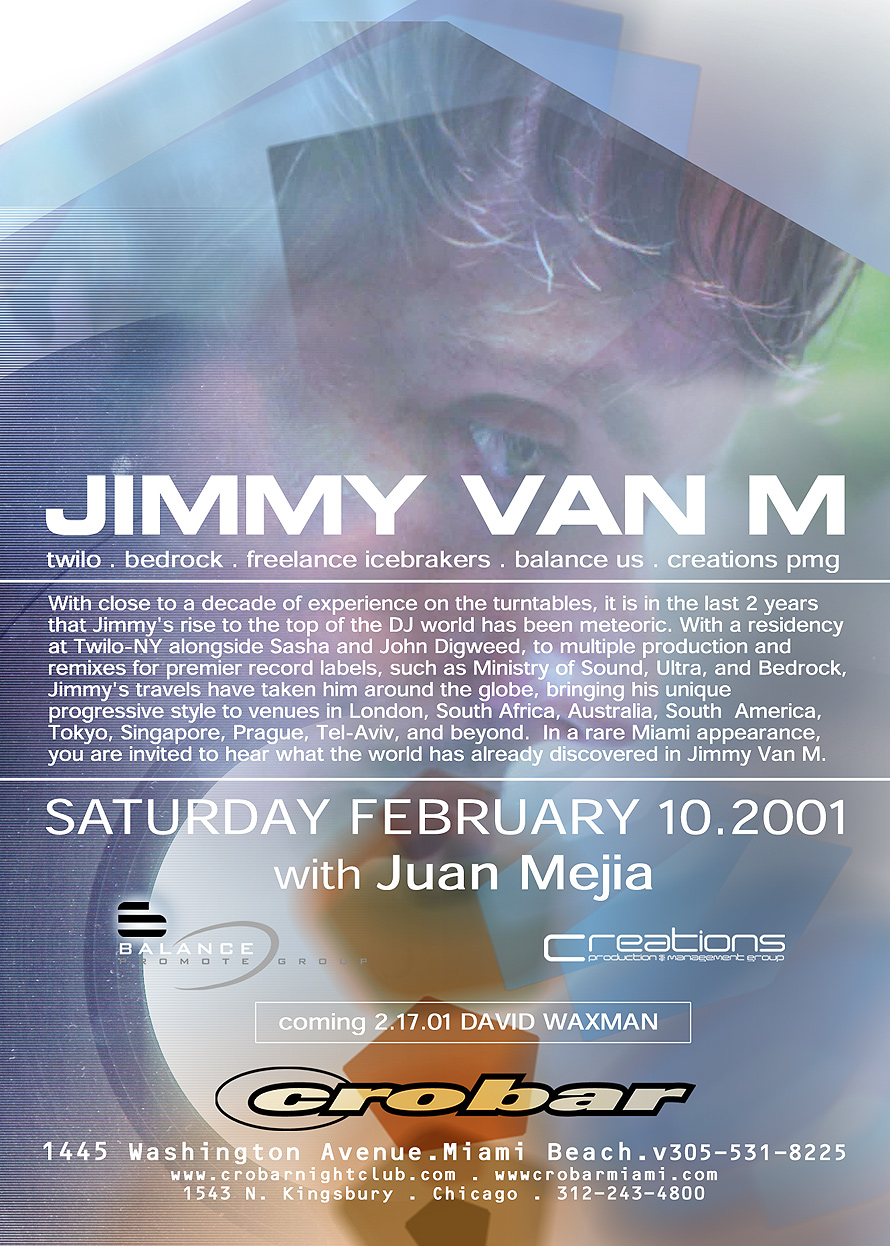 Jimmy Van M at Crobar