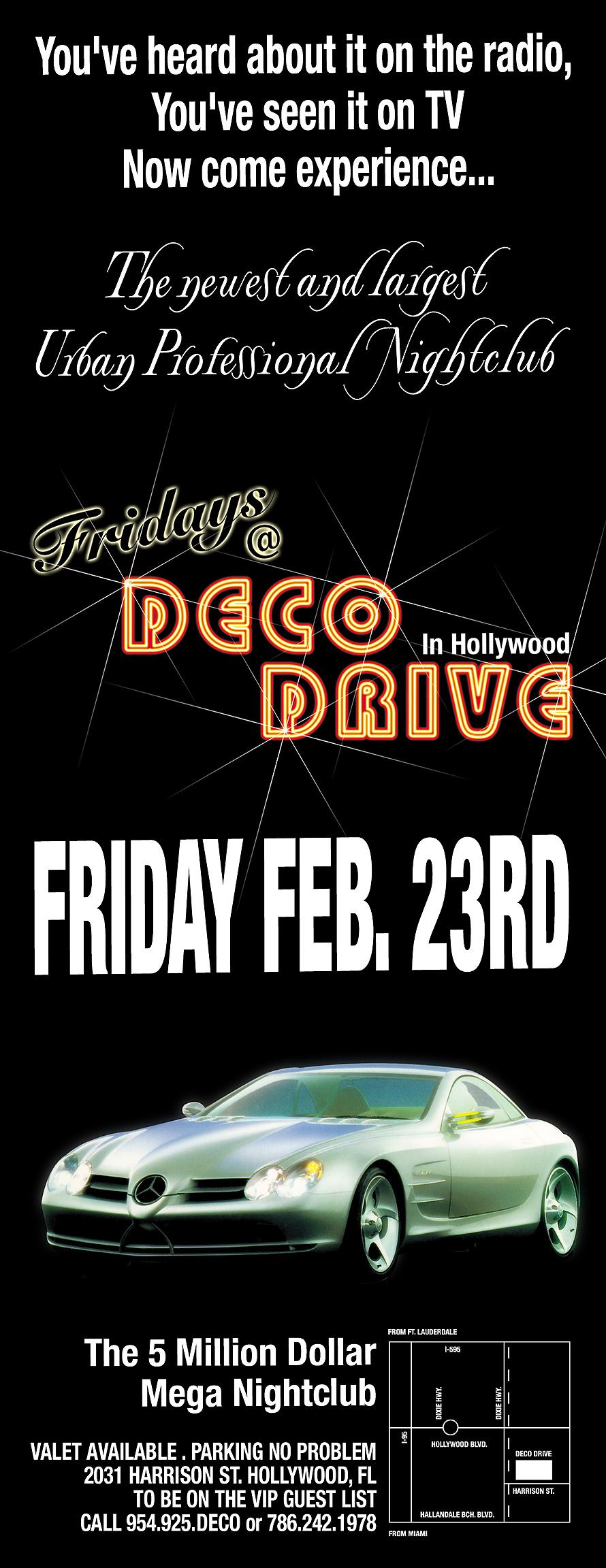 Fridays at Deco Drive