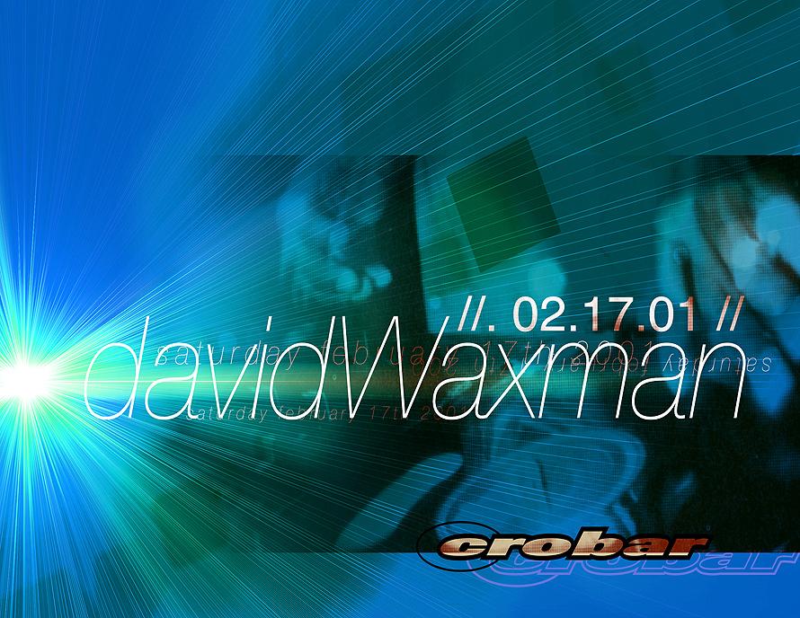 David Waxman at Crobar