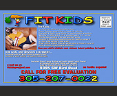 Fit Kids Fitness Center - tagged with Information box