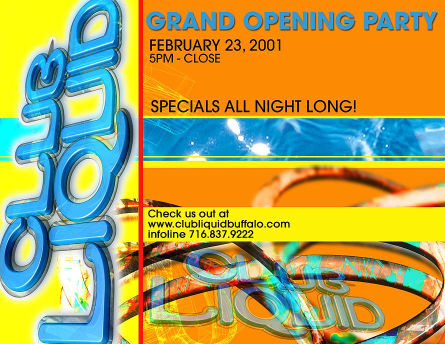 Club Liquid Grand Opening