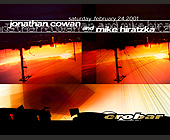 Jonathan Cowan and Mike Hiratzka Jonath at Crobar in Miami Beach - Flyer Printing