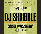 Pussy Gallore Thursdays at Club 609 - created February 16, 2001