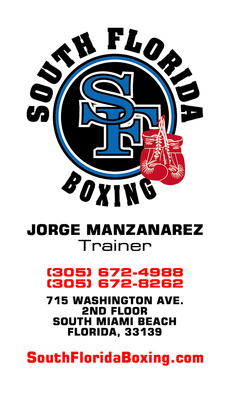 South Florida Boxing with Jorge Manzanarez