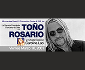 Toño Rosario Miccosukee Resort & Convention Center - tagged with con