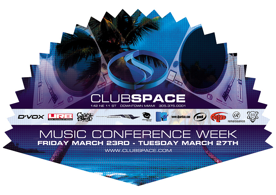 Music Conference Week at Club Space