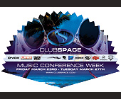 Music Conference Week at Club Space - tagged with turntable