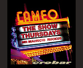 The Show Thursdays at Crobar - tagged with cameo logo