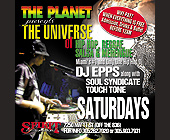 The Planet Presents The Universe - Spirit International Graphic Designs