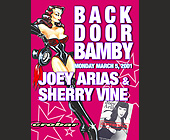 Back Door Bamby Mondays at Crobar - tagged with joey arias