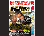 Black College Spring Break Barbecue Party - tagged with cancun
