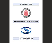 Benefit for Community Blood Centers at Club Space - Miami Flyers Graphic Designs