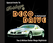 Fridays at Deco Drive - created February 2001