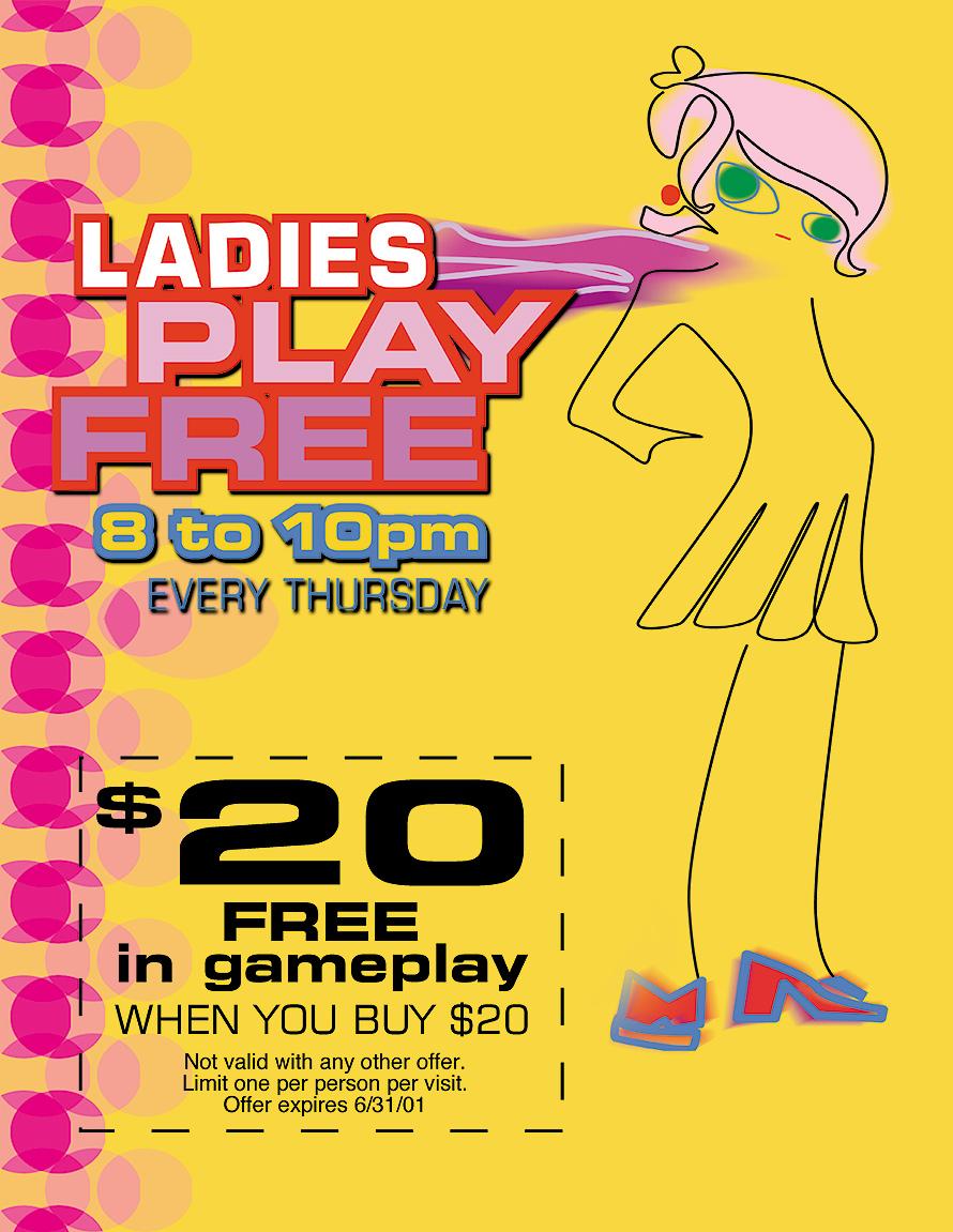 Gameworks Ladies Play Free