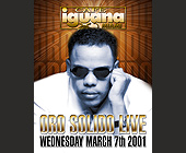 Oro Solido Live at Cafe Iguana Kendall - tagged with el zol 95 logo