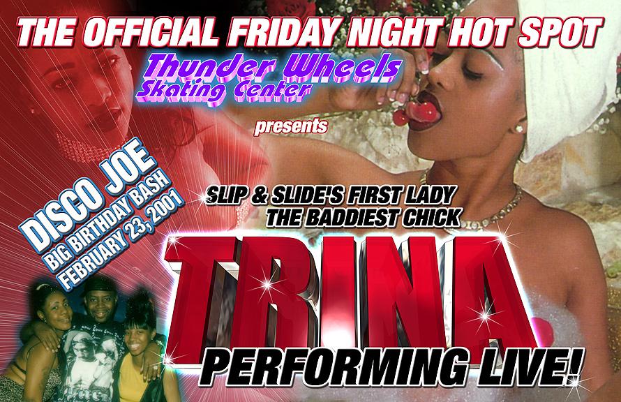 Trina Performing Live at Thunder Wheels