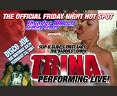 Trina Performing Live at Thunder Wheels - client Thunder Wheels
