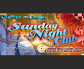 Thunder Wheels Sunday Nightclub - 825x1650 graphic design