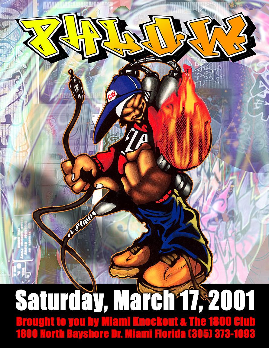 Phlow Saturday at 1800 Club in North Miami