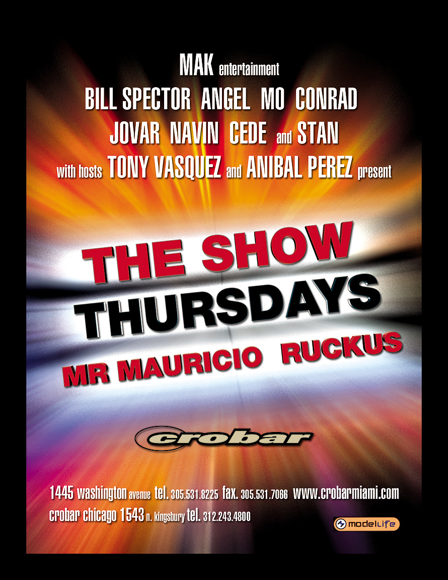 The Show Thursdays at Crobar