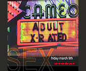 Adult X Rated Sex at Crobar - created March 2001