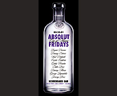 Absolut Fridays at The Scoreboard Bar - created March 12, 2001
