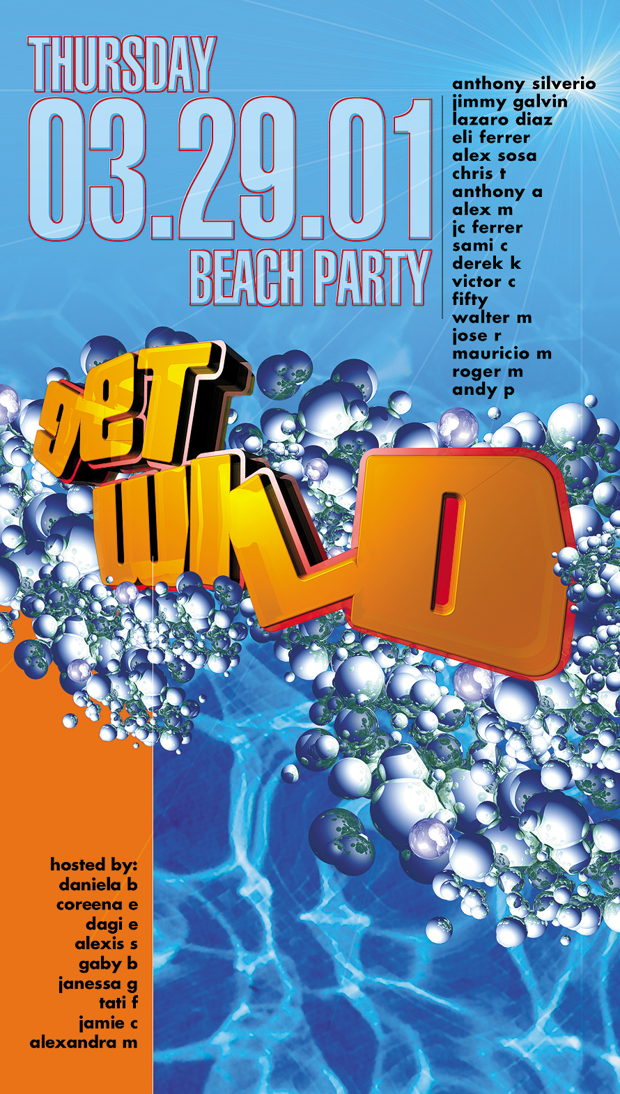 Get Wild Beach Party at Sundays on the Bay