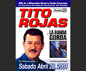 Tito Rojas y La Banda Gorda at Miccosukee Resort Casino - Casino Graphic Designs