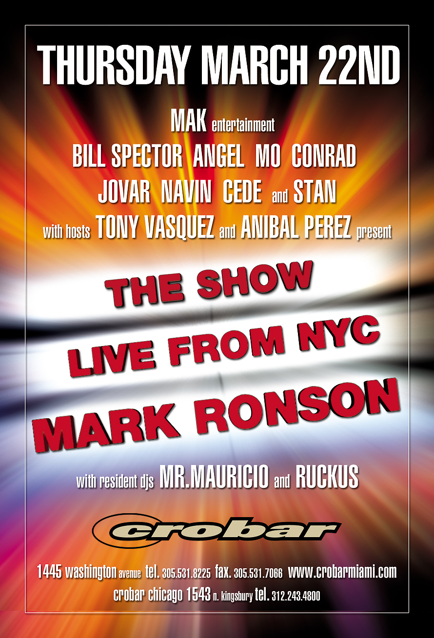 The Show Live from NYC at Crobar