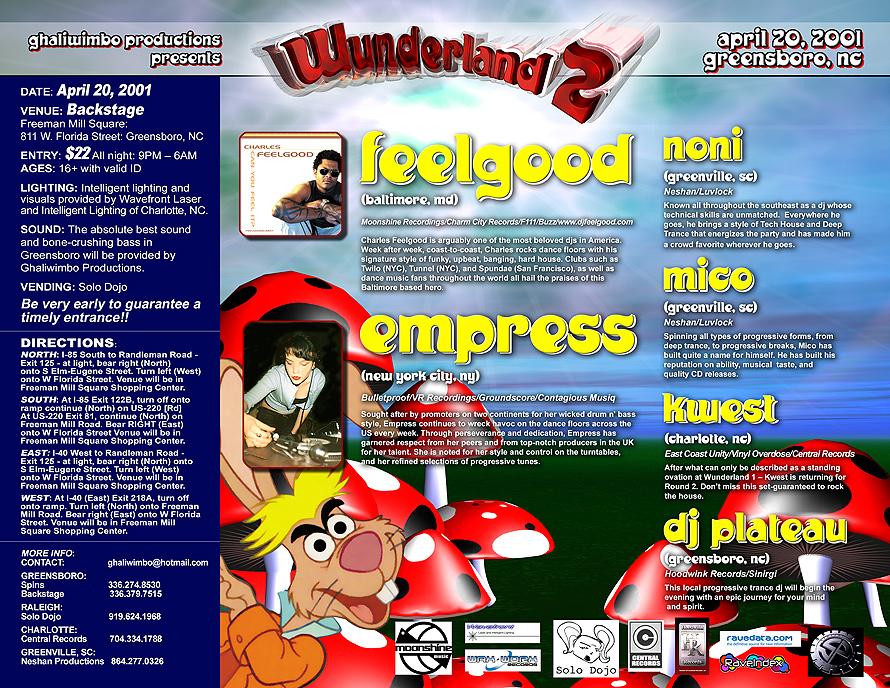 Wonderland 2 at Backstage