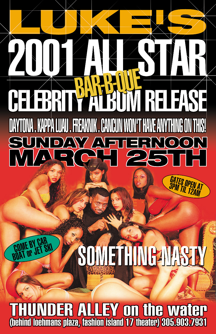 All Star Celebrity Album Release at Thunder Alley on the Water