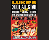 All Star Celebrity Album Release at Thunder Alley on the Water - created March 2001