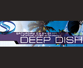 Deep Dish After Party at Club Space - 5250x1650 graphic design