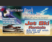 Hurricane Beach Rentals - created March 2001