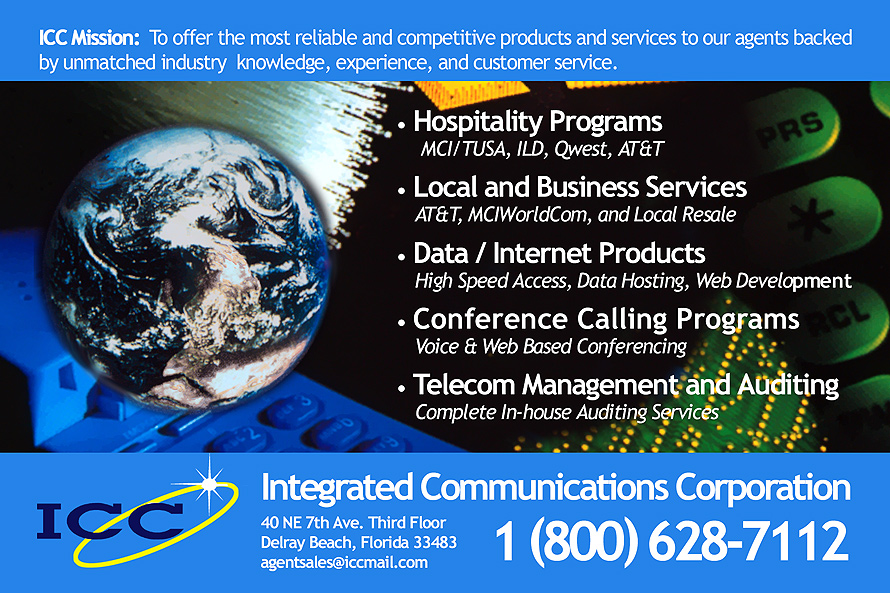 Integrated Communications Corporation Delray Beach Florida