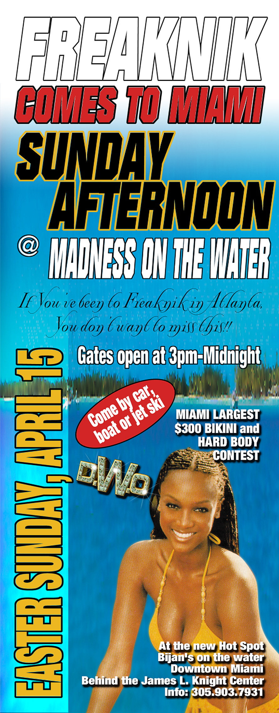 Freaknik Comes to Miami at Bijan's on the Water