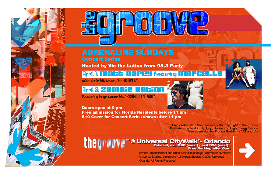 The Groove Lounge at City Walk