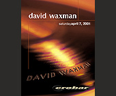 David Waxman at Crobar in Miami Beach - created March 2001
