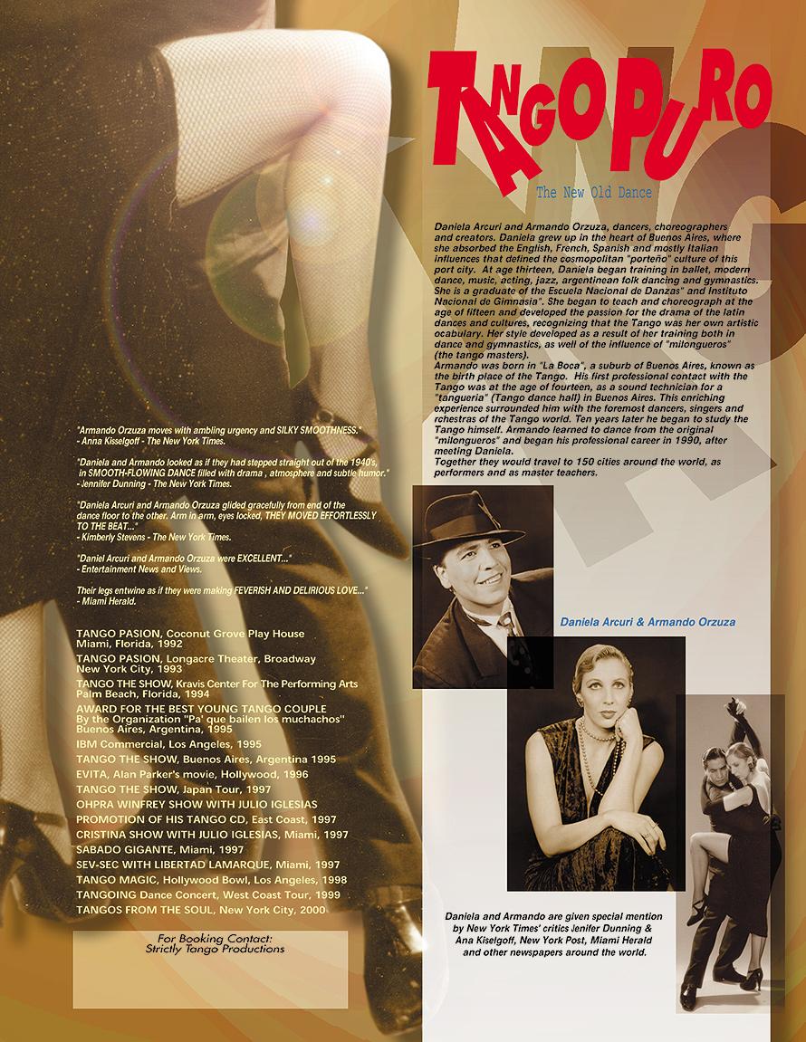 Salsa Lovers Presents Tango Puro Beginner Class