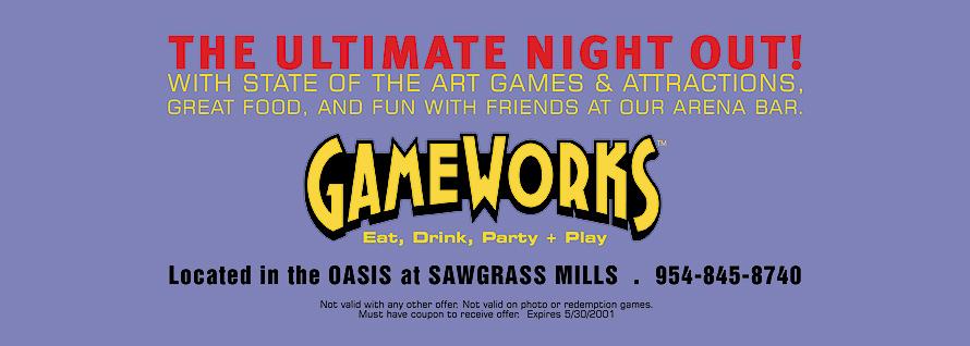 Gameworks $12 of Gaming