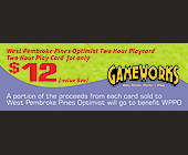 Gameworks $12 of Gaming - tagged with gameworks logo