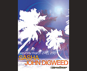 Sasha and John Digweed at Crobar - 1330x1862 graphic design